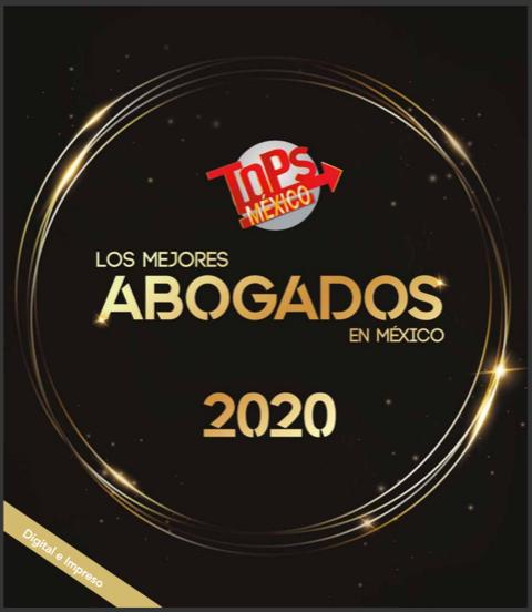 """Revista """"Los Mejores Abogados en México 2020"""""""