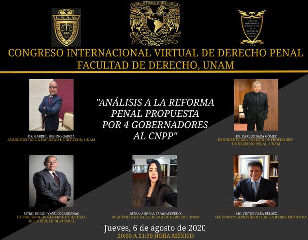 Congreso Internacional Virtual de Derecho Penal
