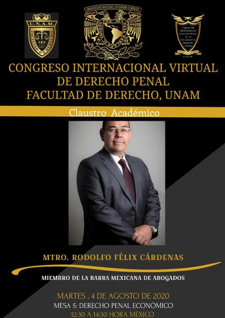 Congreso Internacional Virtual de Derecho Penal: Derecho Penal Económico